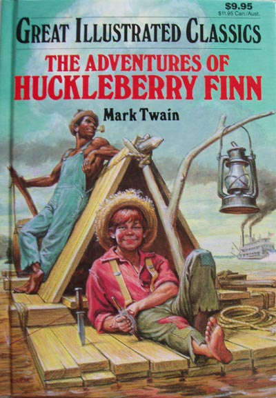 mark twain of huck finn On mark twain's huckleberry finn mark twain's the adventures of huckleberry finn was banned for the first time just one month after its publication.