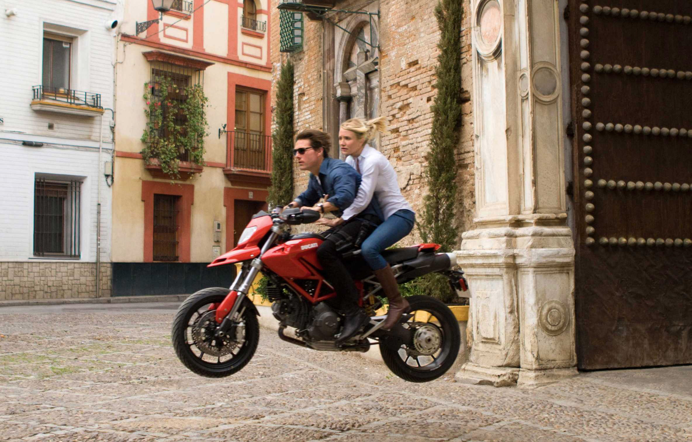 Ducati Tom Cruise Knight And Day