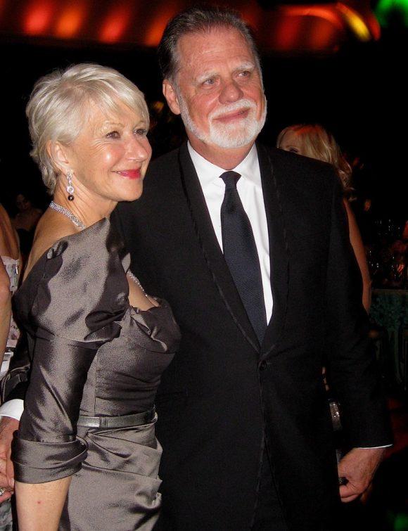 Mirren with husband Taylor Hackford