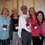 From L.: Naomi, Paulette, Michael, Christine, me