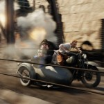 tintin movie still sidecar