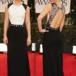 Golden Globes 2012 Fashion Roundup