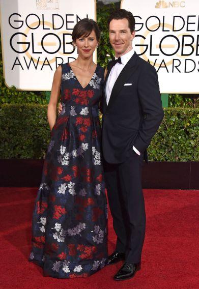 Benedict Cumberbatch & fiancée Sophie Hunter
