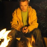 breaking bad jesse at campfire