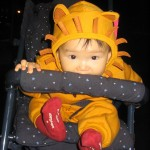 My nephew Max on his first Halloween