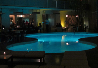Poolside at the Avalon