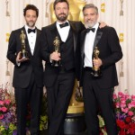ARGO producers: Grant Heslov, Affleck, George Clooney. Kevin Winter/Getty Images