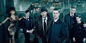 Ben McKenzie og Donal Logue i TV-serien Gotham