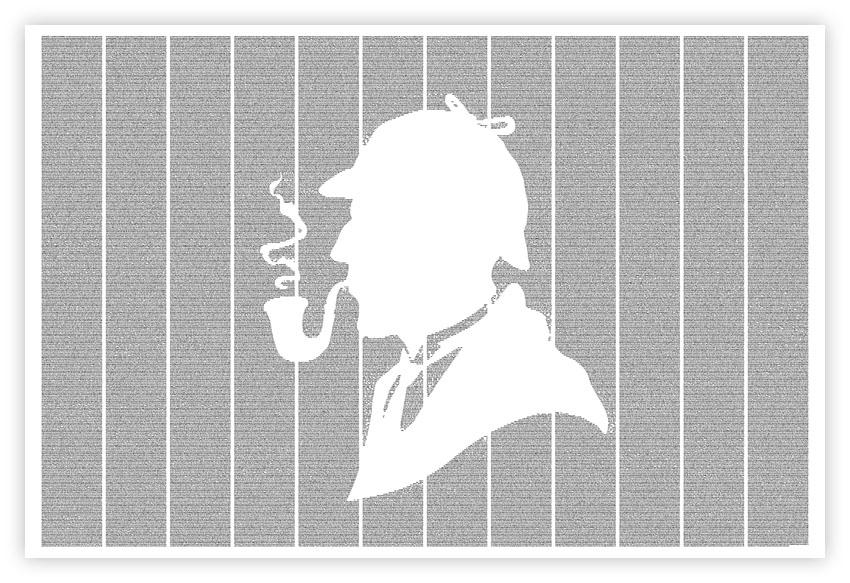 Arthur Conan Doyle's THE ADVENTURES OF SHERLOCK HOLMES