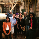 With writer/star Lin-Manuel Miranda, cast member Daveed Diggs, and other National Student Poets